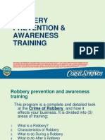 C Store Robbery Prevention