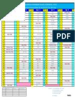 Academic Calendar 2016