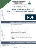 Planeamientometodologia de Los Trabajos de Estabilidad de Taludes (1)