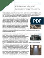 Aditivi.afacereamea.ro-a Fost Dezlegata Enigma Stravechiului Beton Roman