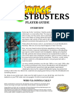 Ghostbusters Player Guide