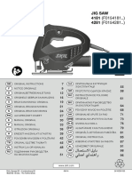 Manual Ferastrau Pendular Skil 4181 4281