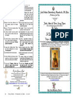 2017 - 26 July -Mat-lit- St Paraskevi of Rome