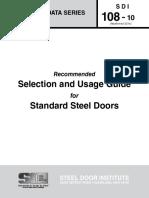 Metal Door Selection Protocol