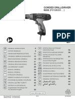 Manual Masina de Gaurit Si Insurubat Skil 6222 (F0156222 . . )