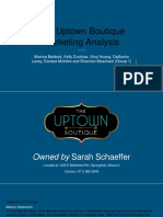 final presentation - the uptown boutique