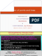 4.Projection of Points n Lines