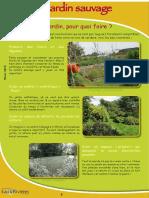 Jardin sauvage - Fiche péda Eau & Rivières de Bretagne