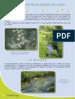 Au bord de l'eau, le printemps - Fiche péda Eau & Rivières de Bretagne