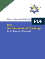 Lib Dem Friends of Israel Iran Leaflet