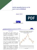 CIFRA - DT 06 - La recuperación industrial durante la post-convertibilidad (presentación)