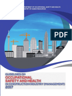 Guidelines of Occupational Safety and Health in Construction Industry