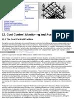 Pmbook Ce Cmu Edu 12 Cost Control Monitoring and Accountin