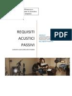 I Requisiti Acustici Passivi