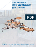 Uttar Pradesh District Factbook- Agra District
