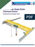 Overhead Munck Cranes - Crane and Trolleys Own Weight
