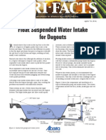 Float Suspended Water Intake