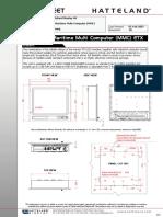 19 Inch Computer DataSheet