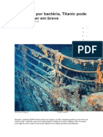 Bacterias- Devorado, Titanic Pode Desaparecer Do Fundo Do Mar