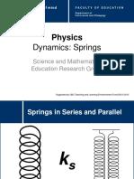 Sec Phys Dynamics Springs SeriesParallel