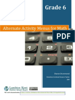Alternate+Activity+Menus+for+Math+Grade+6