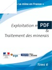 Exploitation Minere Final
