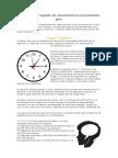 Cómo Lograr 17 Segundos de Concentración en Un Pensamiento Puro