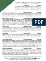 VR - Polymers & Packaging RI