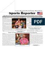 July 19 -25, 2017  Sports Reporter