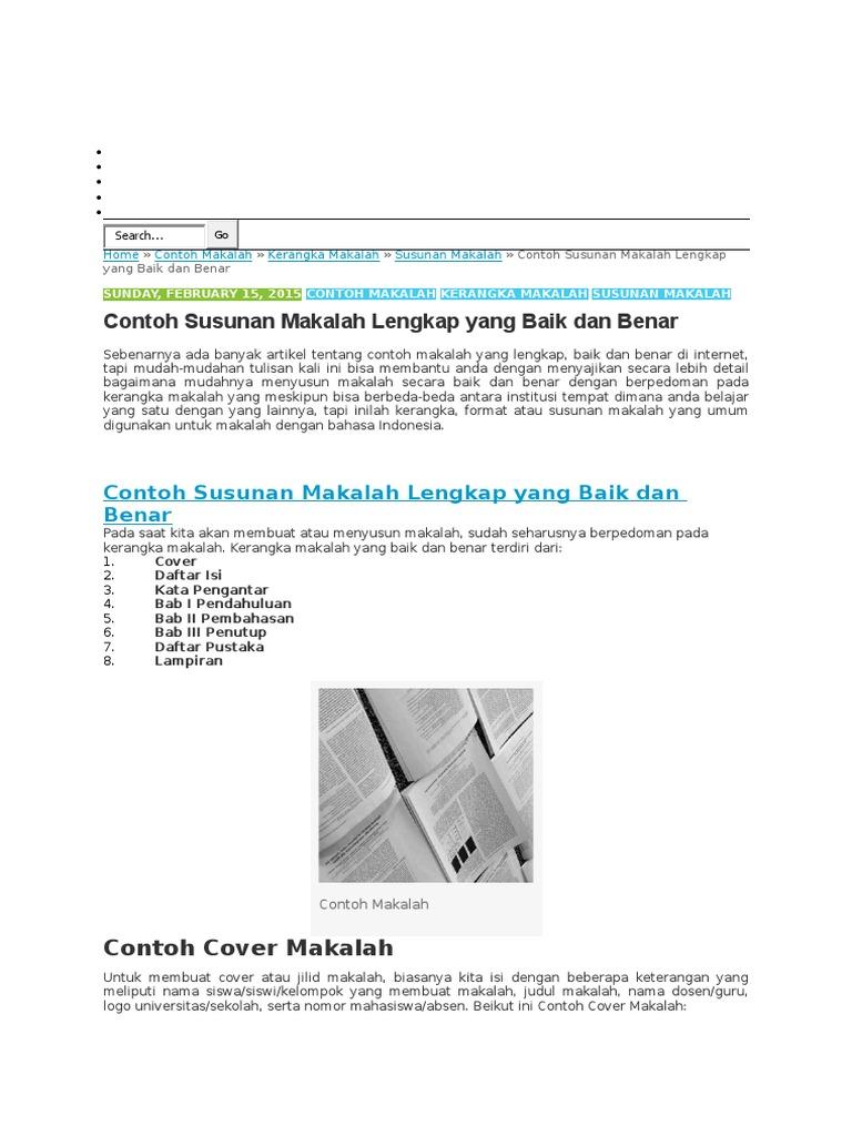 Contoh Makalah Docx