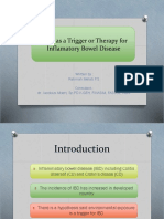 DIET as a Trigger or Therapy for Inflamatory
