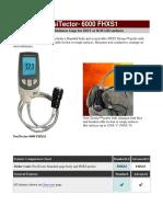 PosiTector 6000 FHXS1-E