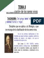 T8 Clasificación de Los Seres Vivos ENTREGA1 MON_PROT