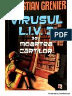 ChristianGrenier-VirusulL.I.V3-sau moartea cartilor