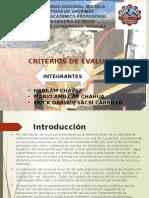 Geologia de Minas Criterios