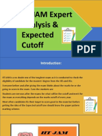 IIT JAM Expert Analysis & Expected Cutoff