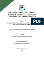 Tesis PML Biodiesel Espinoza C