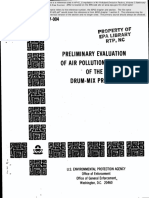 EPA, Preliminary Evaluation of Air Pollution Aspects of the Drum-Mix Process, EPA 340 1 77 044, Mar. 1976