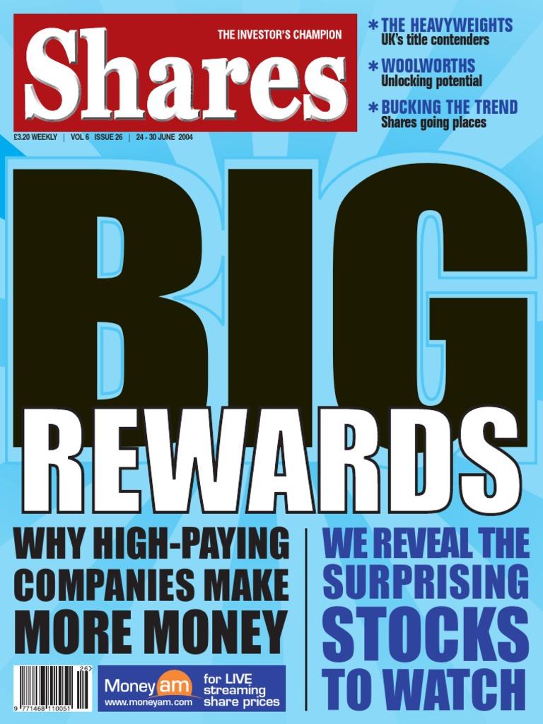 Sharesmagazine 2004-06-24 | Speculation | Investor