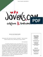 Textos de Orientação _ JORNADA EBP-MG