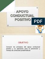 Apoyo Conductual Positivo