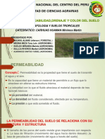 Permeabilidad Del Suelo PPT Edafologia