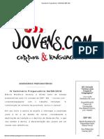 Seminários Preparatórios _ JORNADA EBP-MG