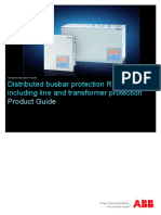 1MRB520308-BEN D en Distributed Busbar Protection REB500