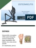 Presentation Osteomielitis