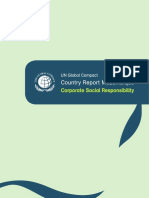 UNDP MOZ Global Compact Country Report Mozambique 2007