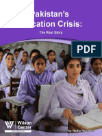 Pakistan's Education Crisis