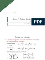 Parte9 Analisi Dei Circuiti Con Memoria