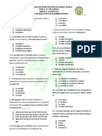 Banco de Preguntas Estadistica 2015