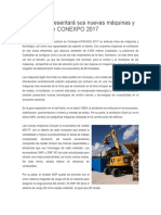 Caterpillar Presentará Sus Nuevas Máquinas y Tecnología en CONEXPO 2017